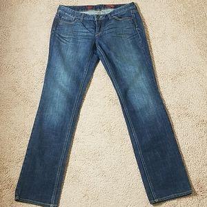 Express Stella skinny leg blue jeans size 10